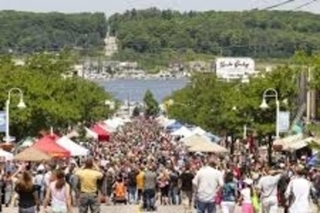 A photo of the Midland Butter Tart Festival.