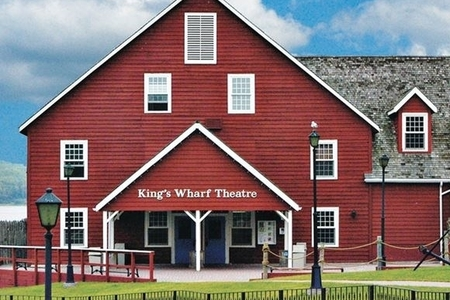 A photo of the King's Wharf Theatre.